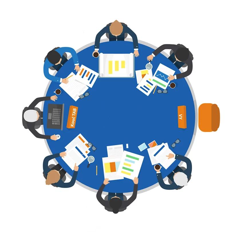 TAB Board - kulatý stůl pro podnikatele